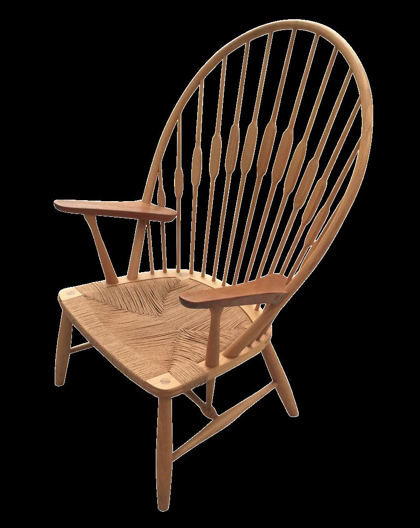 Image of Hans Wegner for Carl Hansen Peacock Chair