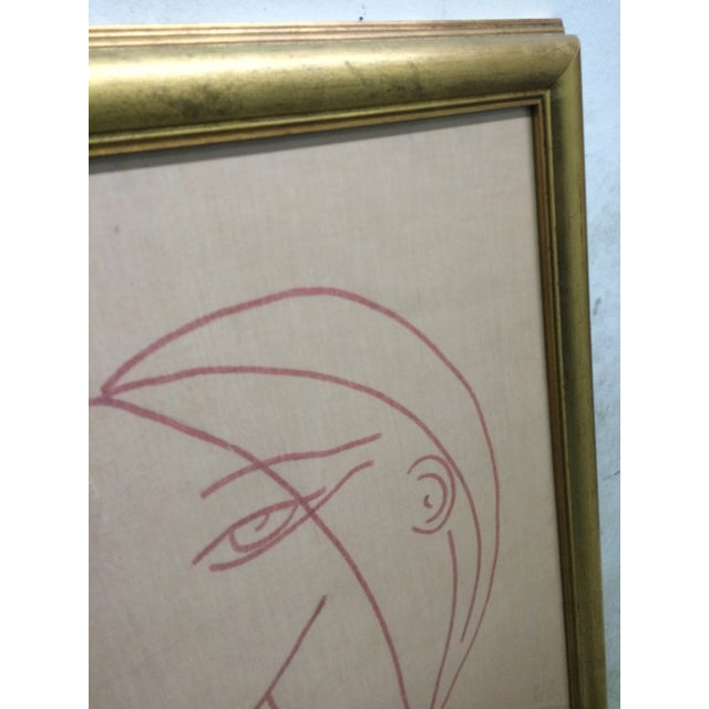 Image of Picasso-Inspired Drawing by Lucia Stern