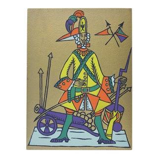 Vintage Ltd. Ed. Serigraph-Mark Coomer-Listed American Artist-Soldier