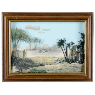 Napoleon Egypt Expedition 3D Paper Shadowbox Diorama