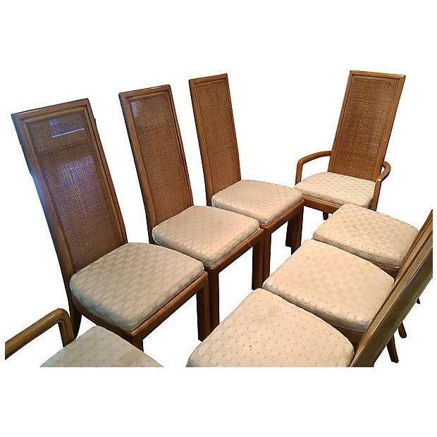 Image of American of Martinsville Dining Chairs - Set of 8