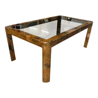Paul Evans Style Patchwork Dining Table