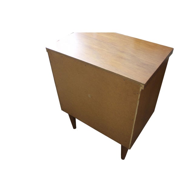 Mid-Century Two-Drawer Nightstand - Image 5 of 5
