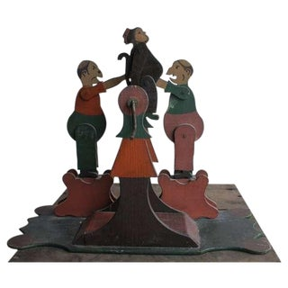 1900's Hand Made Articulated Folk Art Toy