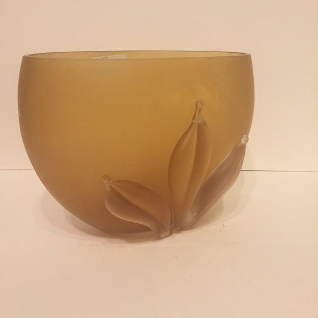 Kamei Glass Osaka Japanese Art Vase - Image 3 of 5