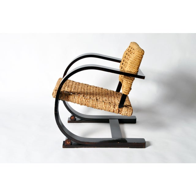 Image of Pair of Art Deco Bentwood Arm Chairs