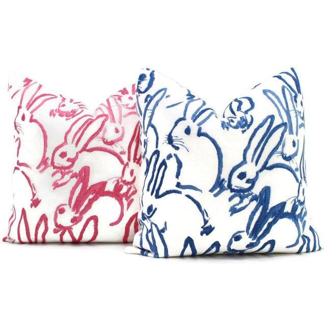 Lee Jofa Groundworks Hutch Blue Bunny Pillow - Image 5 of 5