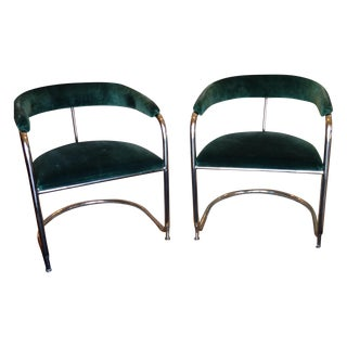Vintage Anton Lorenz Thonet Chairs - Pair