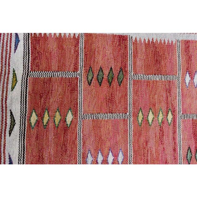 Vintage Carl Dagel Flat-Weave Swedish Carpet - Image 6 of 8