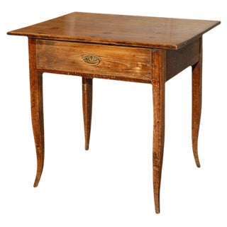 Antique Country Table with Drawer
