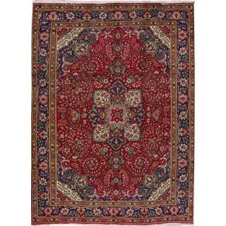 """Apadana - Vintage Persian Tabriz Rug, 8'3"""" x 11'4"""""""