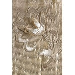 Image of French 1930s Silver Thread & Sequin Fabric