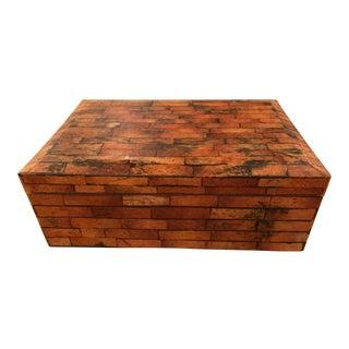 Decorative Box Made of Coconut Husk