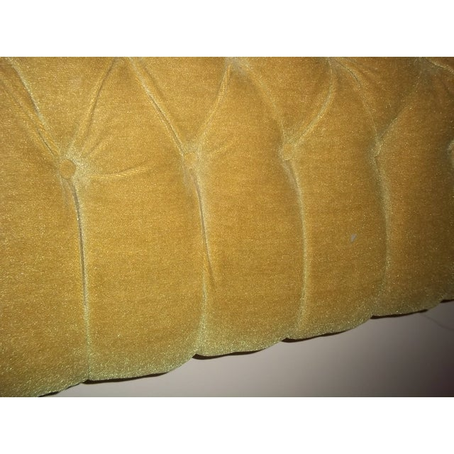 Image of Vintage 1960s King Size Tufted Headboard