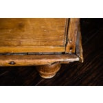 Image of Antique Scrubbed Pine Linen Press Cabinet