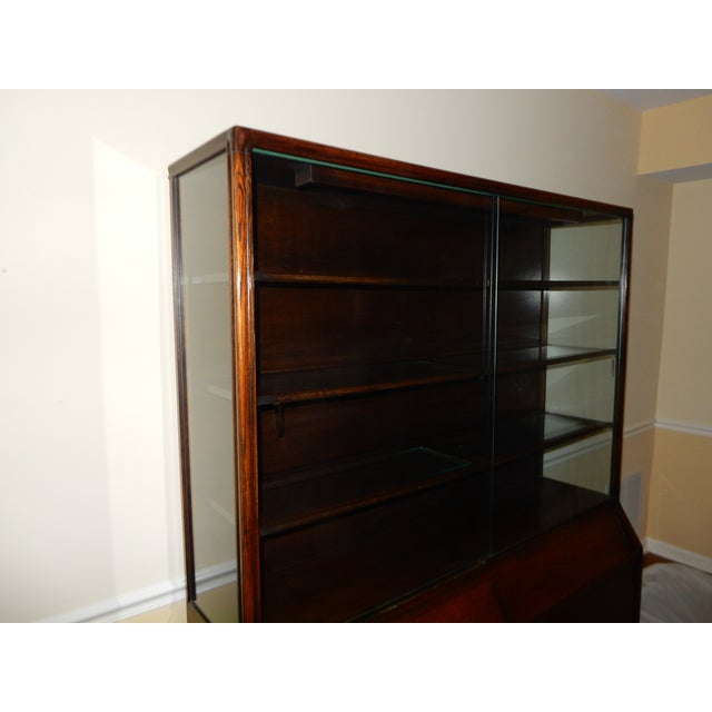 Mid-Century Glass Front China Display Cabinet - Image 3 of 11