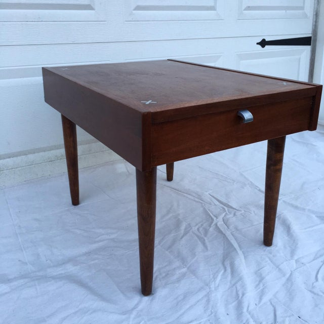 American of Martinsville Mid-Century Side Table - Image 3 of 11