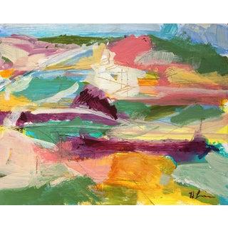 Heidi Lanino Landscape #2 Acrylic Abstract Painting