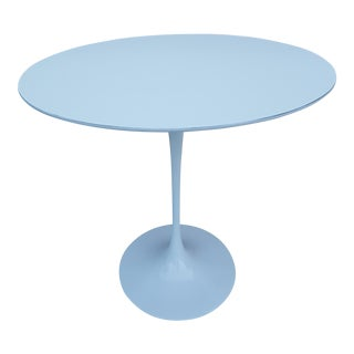 Eero Saarinen For Knoll Tulip Pedestal Side Table .