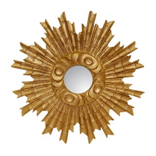 Gold Leaf Padrone Wall Mirror