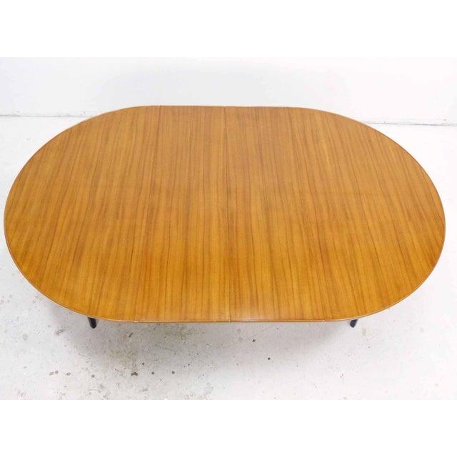 Edward Wormley for Dunbar Round Mahogany Dining Table - Image 4 of 10