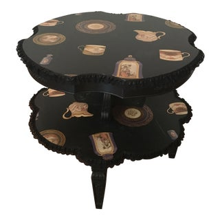 Vintage 2 Tier Tea Table