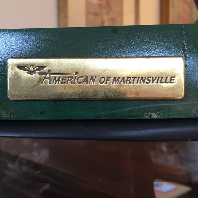 Emerald Curio Cabinet by American of Martinsville - Image 9 of 11