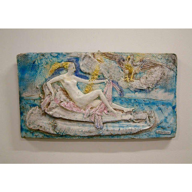 Ugo Lucerni Majolica Wall Relief - Image 2 of 8