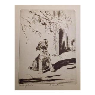Prince of Wails Dog Print Diana Thorne, 1930s