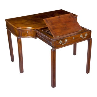 Mahogany George III Console Table