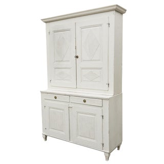 Tall Swedish Cupboard