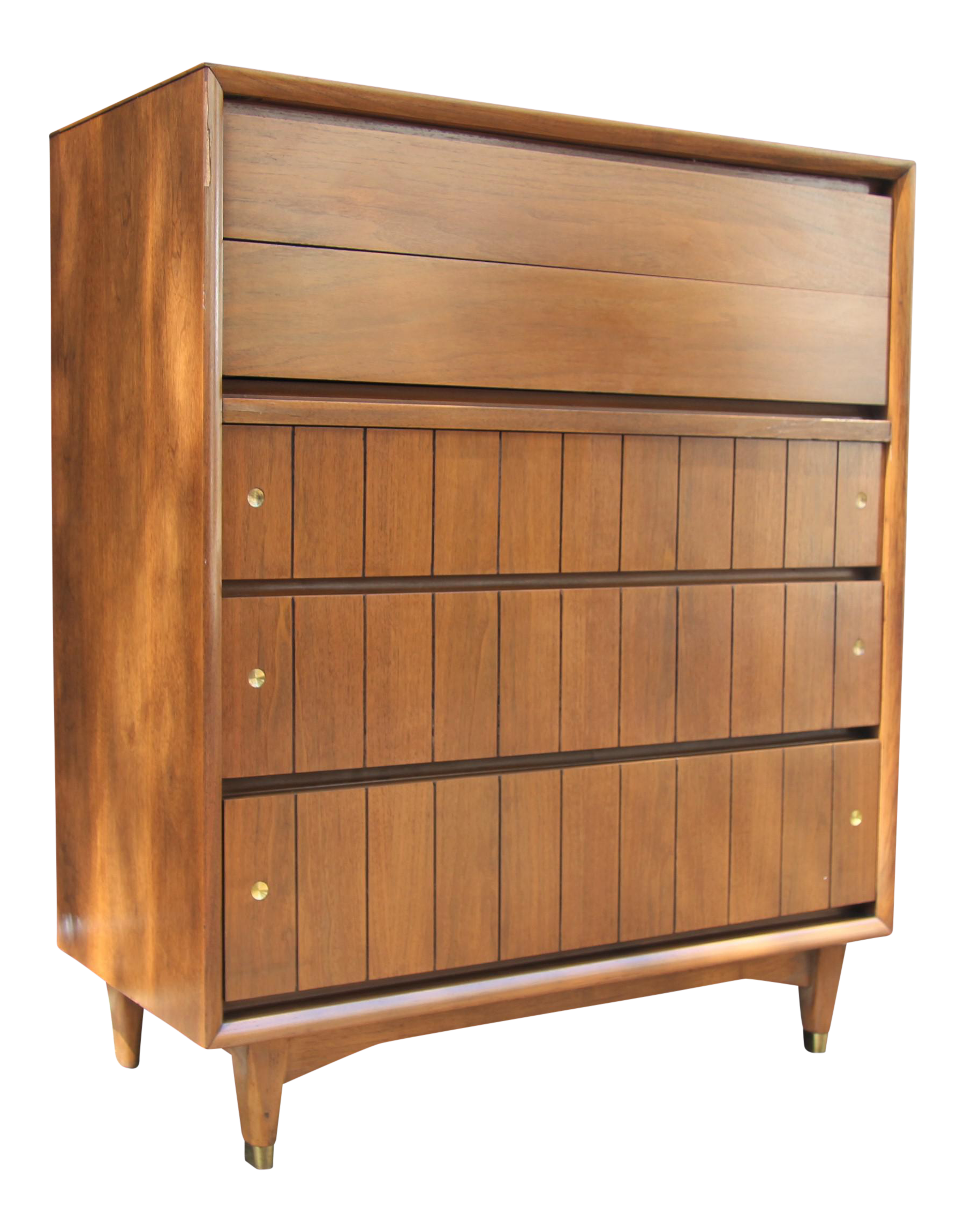 image of kroehler furniture midcentury highboy - Kroehler Furniture