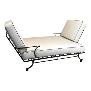 Bob Anderson Style Tete a Tete Double Lounge Chaise