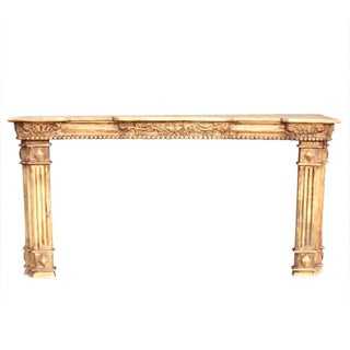 Column Mantel-Style Console Table