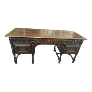 Kittinger Walnut Partner Desk