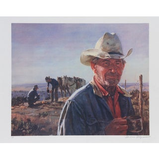 """Duane Bryers, """"Middle of Nowhere,"""" Lithograph"""