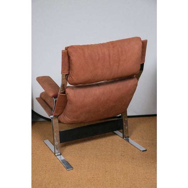 Richard Hersberger for Pace Lounge Chair & Ottoman - Image 5 of 9