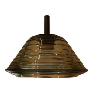 Tom Dixon Pressed Glass Light Pendant