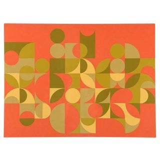 Arnold Hoffmann Jr. From the Square Abstract Serigraph