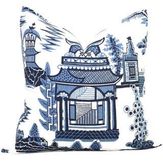 "20"" x 20"" Nanjing Schumacher Decorative Pillow Cover"