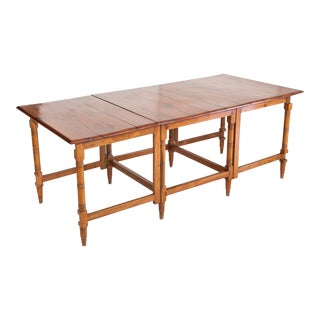British Campaign Dining Folding Table