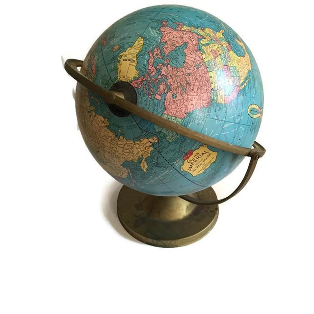 Mid Century Cram's Tilting Axis Globe - Image 5 of 6