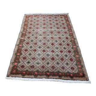 Nomadic Turkish Handwoven Carpet - 4′8″ × 7′5″