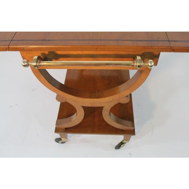 Kaplan Furniture Beacon Hill Serving Cart - Image 4 of 5