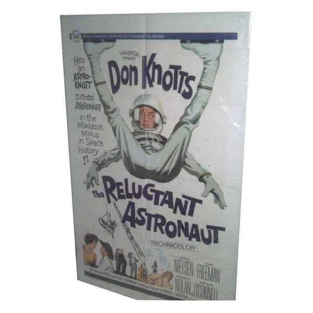 Movie Poster -Don Knotts The Reluctant Astronaut - Image 1 of 5