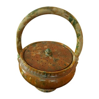 French Pottery Potpourri Basket