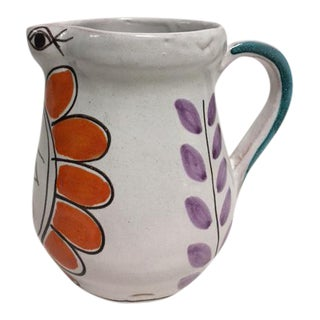 De Simone Italian Pottery Pitcher