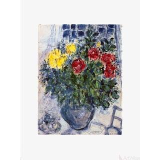 Marc Chagall 'Vase De Fleurs' Poster