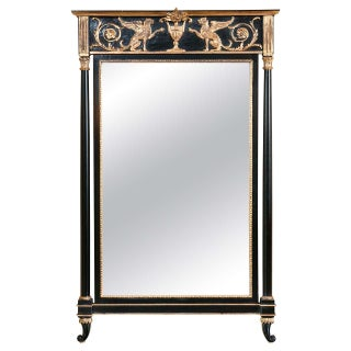 Russian Neoclassical Style Pier Mirror