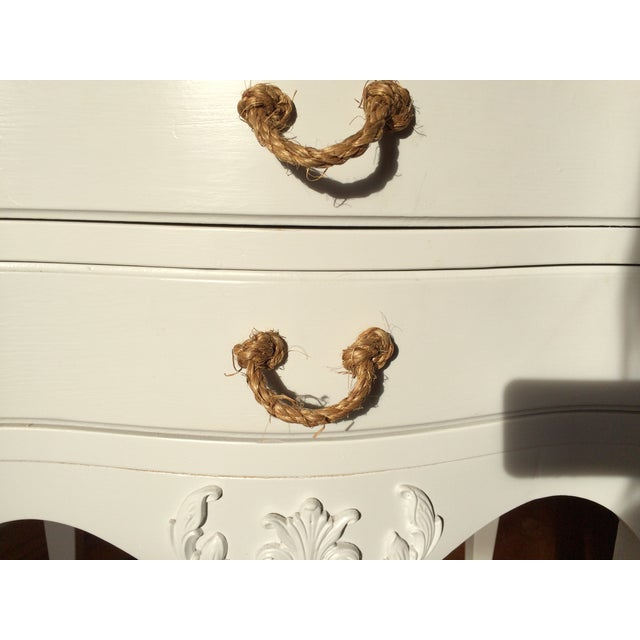 Vintage French Country Nightstand - Image 4 of 5